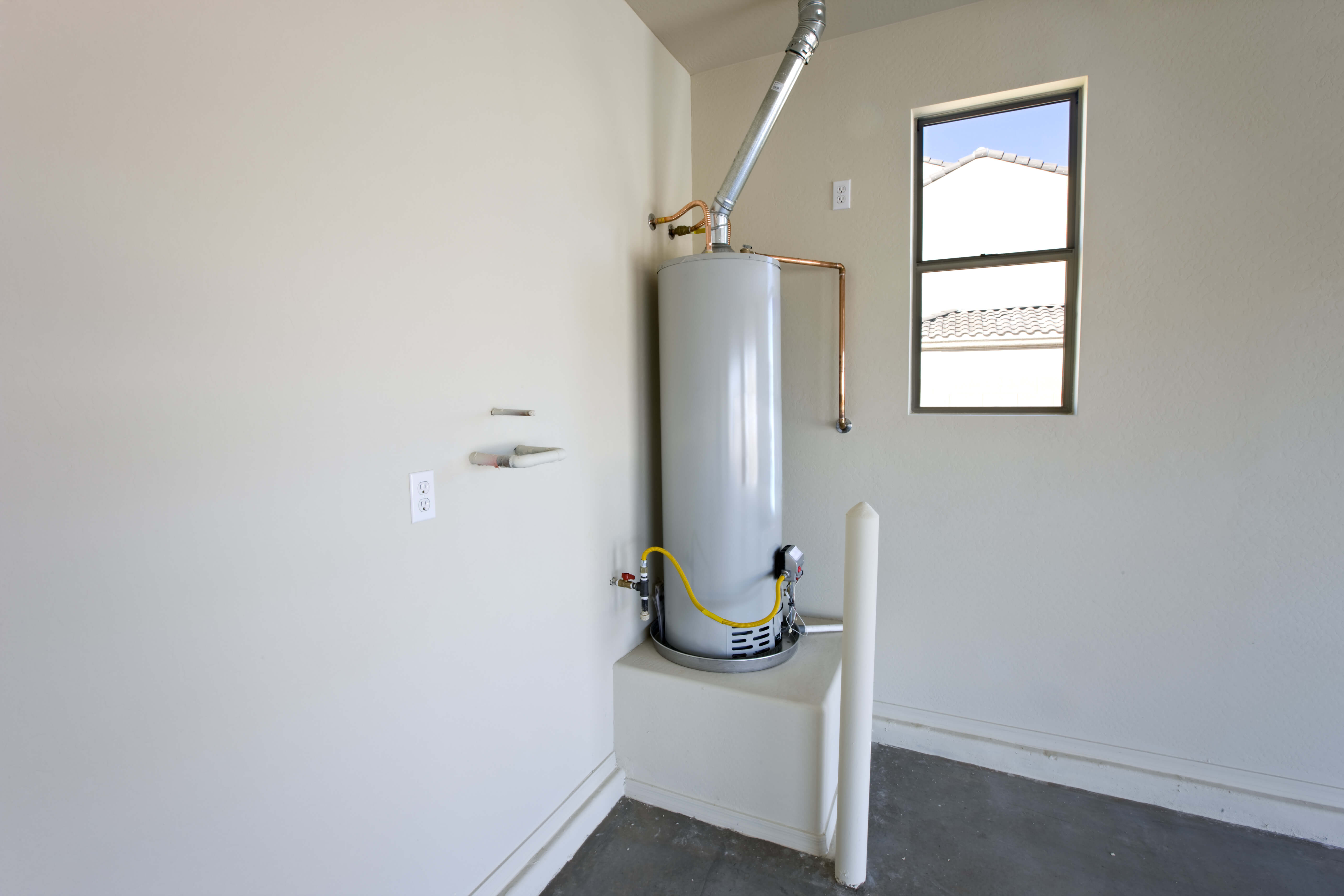 water heater replacement in Sacramento by America's Plumbing